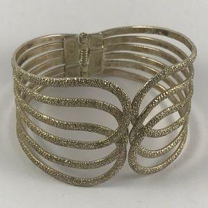 Stunning Silver Bracelet, Vintage Silver Bracelet